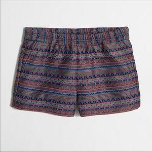 J. Crew Boardwalk Jacquard Pull-On Pocket Shorts